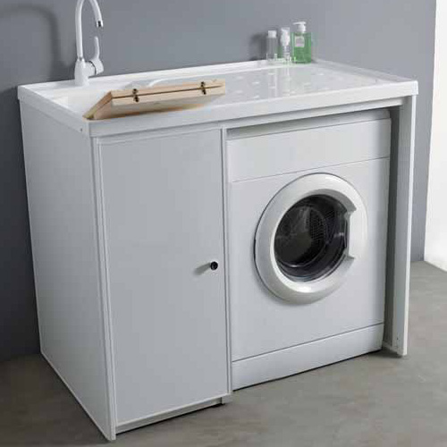 Mobile lavatrice dx sx 107 senza ante jose - Mobile coprilavatrice con lavatoio ...