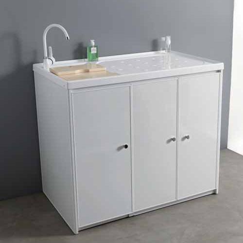 Mobile lavatrice dx sx 107 con ante jose - Mobile lavandino lavatrice ...