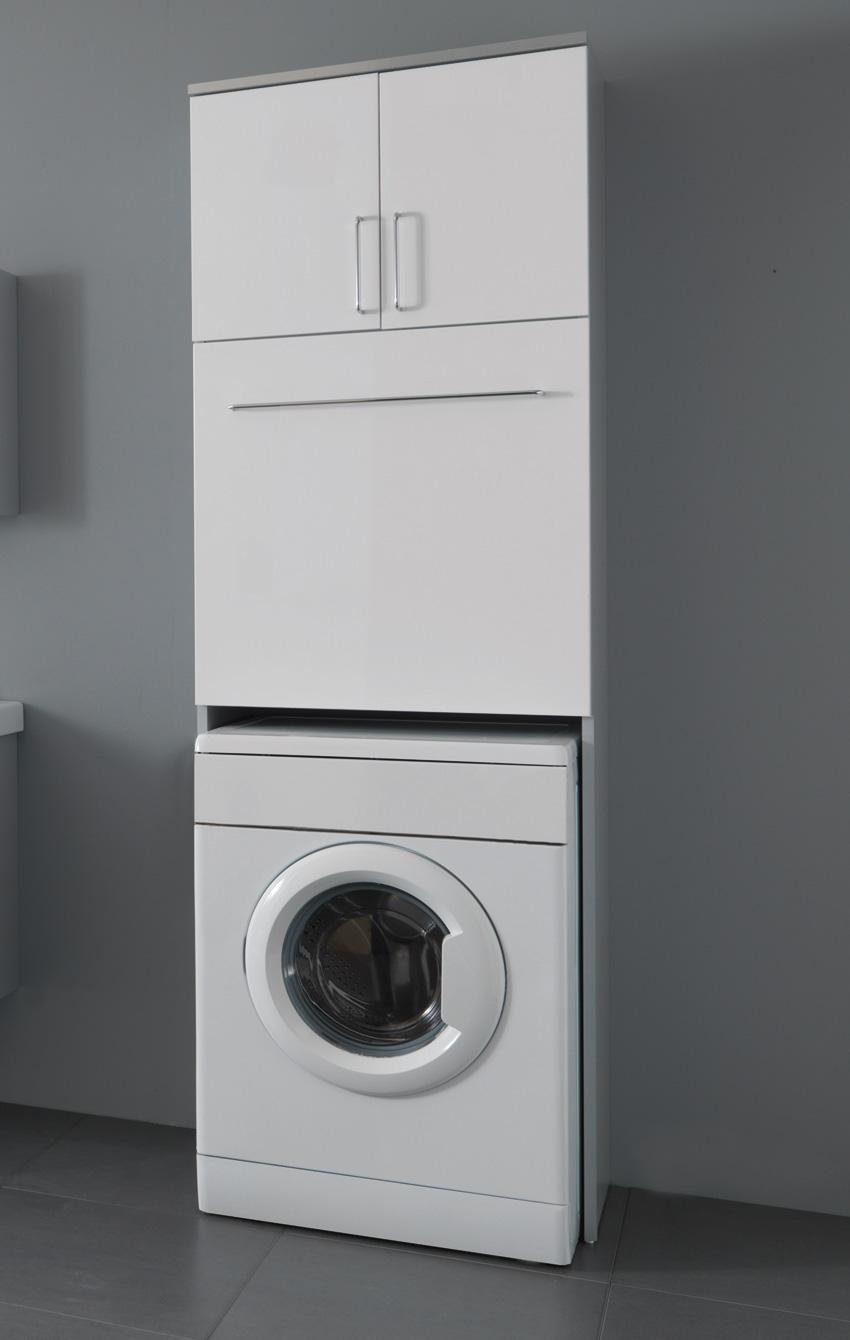 Porte scrigno a vetri - Mobili per lavatrice ...