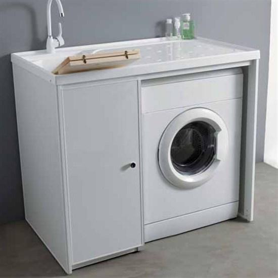 Mobile lavatrice dx sx 107 senza ante jose - Mobile lavatrice asciugatrice ...