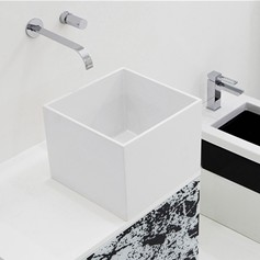 Lavabo in Crystal Tech 31,5 Box