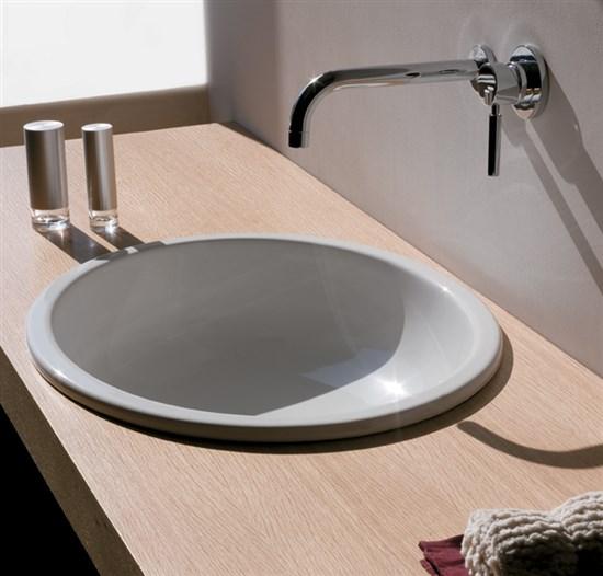 Lavabo incasso 63x50 cm el1 2 - Lavelli per bagno ...