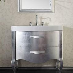 mobili con lavabo in ceramica