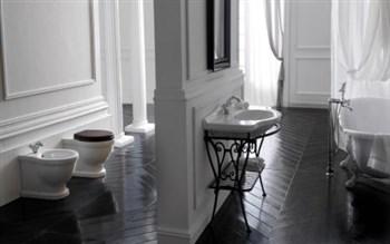 Arredare un bagno vintage, sanitari, vasca e lavabo
