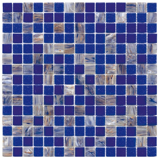 Mosaico Glass Classic mix Blue plus