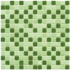 Mosaico Glass Classic mix Green