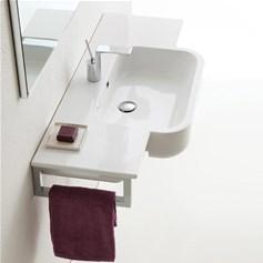 Lavabo A Consolle In Ceramica.Consolle Bagno Clasicca O Moderna
