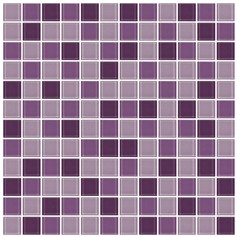 Mosaico Crystal 4 mix violet glass