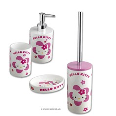 Set accessori bagno Hello Kitty Flower