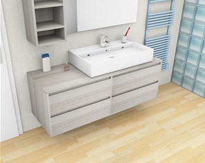 Arredo bagno moderno e classico mobili da bagno online - Mobili bagno moderni sospesi ...