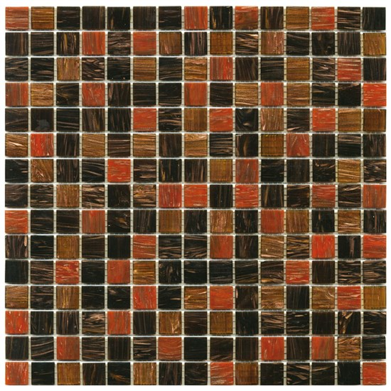 Mosaico Glass Classic mix gold brown