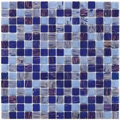 Mosaico Glass Classic mix gold sky