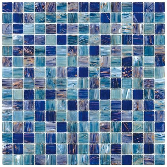 Mosaico glass classic mix gold silk ocean - Fanno i bagni coloranti ...