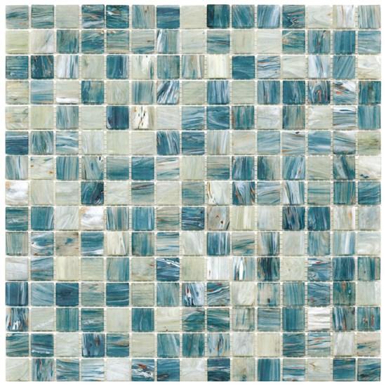 Mosaico glass classic mix gold tourquoise - Fanno i bagni coloranti ...