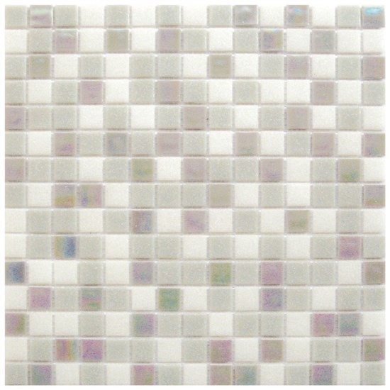 Mosaico Glass Classic mix Grey plus