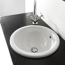 Lavabo incasso vienna 42 cm - Lavandini bagno da incasso ...