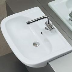 lavabo semincasso 66 x 48 cm nemi