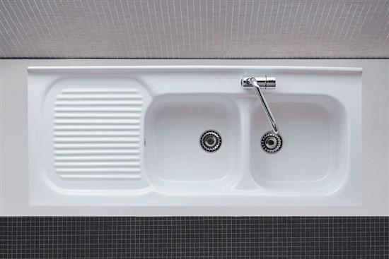 Lavello cucina ceramica florence - Mobile per lavandino cucina ...