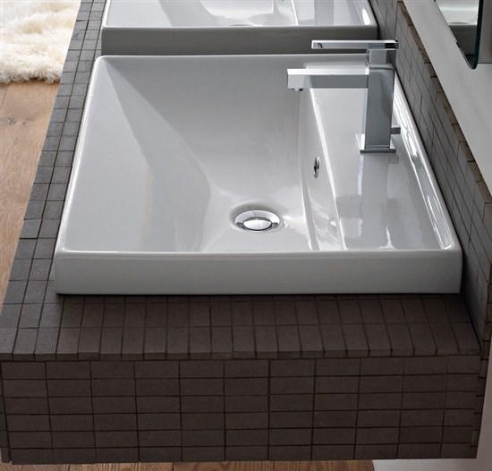 Lavabo incasso 47x60 ml - Lavandino bagno da incasso ...