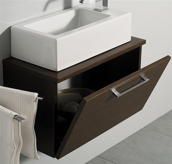Mobile sospeso mini zen da 60 a 100 cm - Arredo bagno zen ...