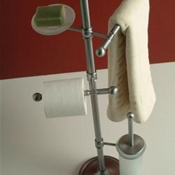 Piantana con porta rotolo doria - Piantane per bagno ...