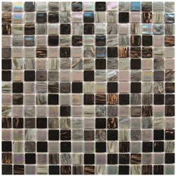 Mosaico Glass Classic mix Patchwork gold darkness