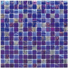 Mosaico Glass Classic mix Patchwork gold oversea