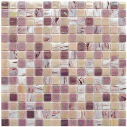 Mosaico Glass Classic mix Patchwork old pink