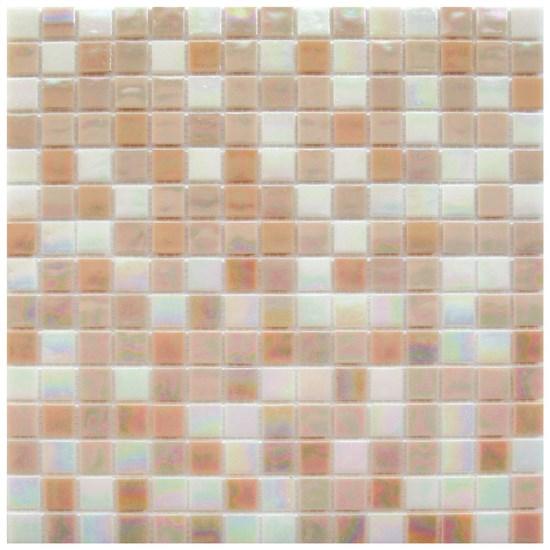 Mosaico glass classic mix reflex pink - Fanno i bagni coloranti ...