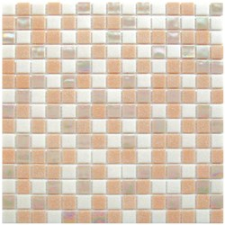 Mosaico Glass Classic mix Rosy plus