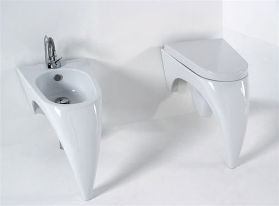 Tappeti bagno per sanitari sospesi tappeti bagno per - Misure water e bidet ...