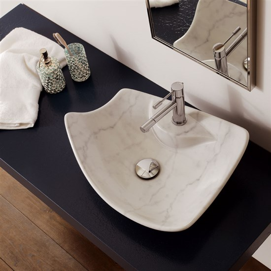 Lavabo kong marmo bianco - Lavabo bagno marmo prezzi ...