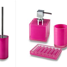 Set completo per bagno Billy Pink
