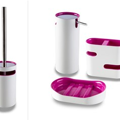 Set accessori bagno Idol Pink
