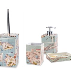 Set completo da bagno Map