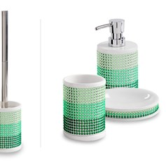 Set accessori da bagno Princess verde