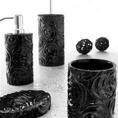 Set accessori Baccarat nero