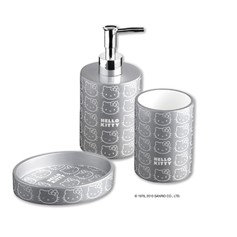 Set accessori bagno Hello Kitty Silver