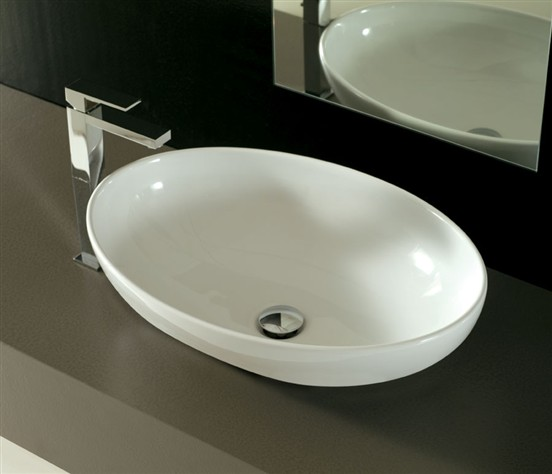 Lavabo incasso Softly 60 cm