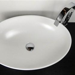 Lavabo ovale softly 60x42 cm bianco opaco - Lavabo bagno colore champagne ...