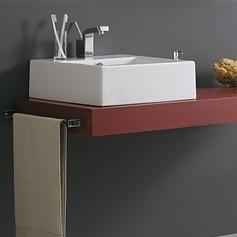 piano bagno per lavabo top h10 cm