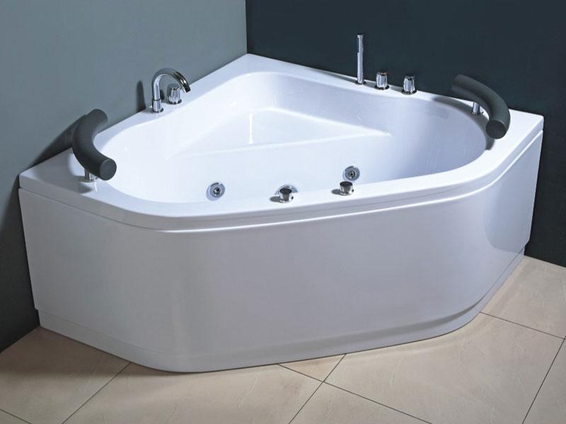 Vasca idromassaggio angolare 130 cm - Vasche bagno angolari ...