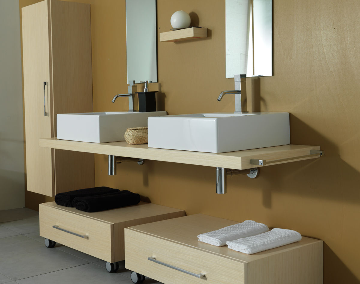 Piano per lavabo top h5 cm for Accessori da bagno ikea