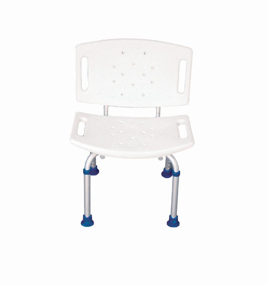 Sgabello con schienale per doccia - Bagno disabili con doccia ...