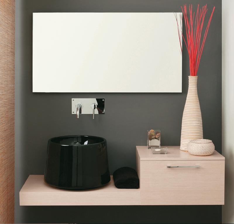 Top bagno con mobile Zen