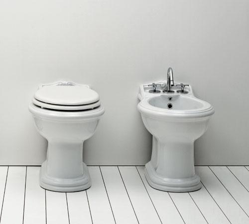 Sanitari bagno vintage jubilaeum - Rubinetteria retro bagno ...