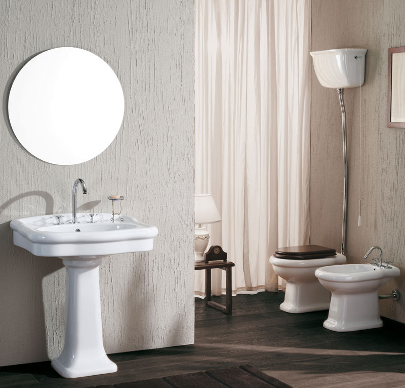 set sanitari lavabo classic