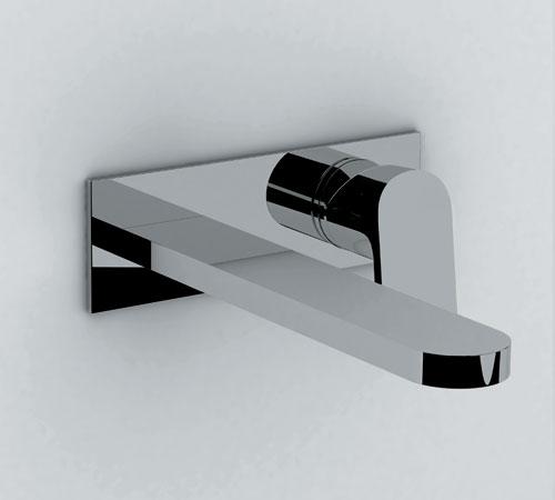 Miscelatore lavabo a parete linea - Miscelatore a parete bagno ...