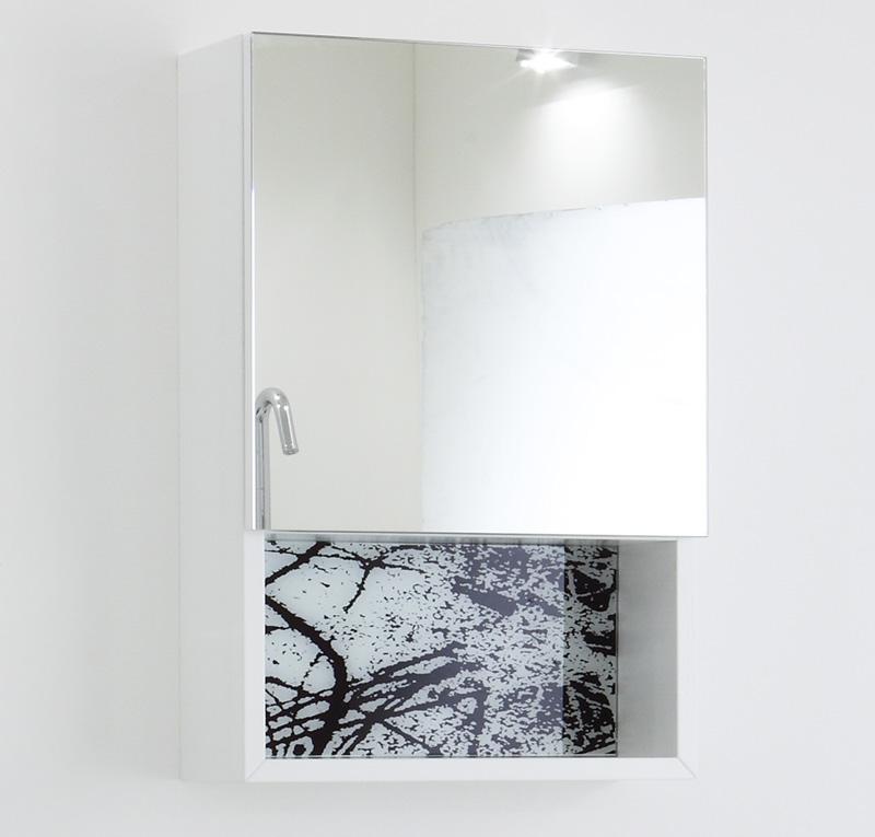 Pensile sospeso 40x60 anta specchio - Pensile specchio bagno ...
