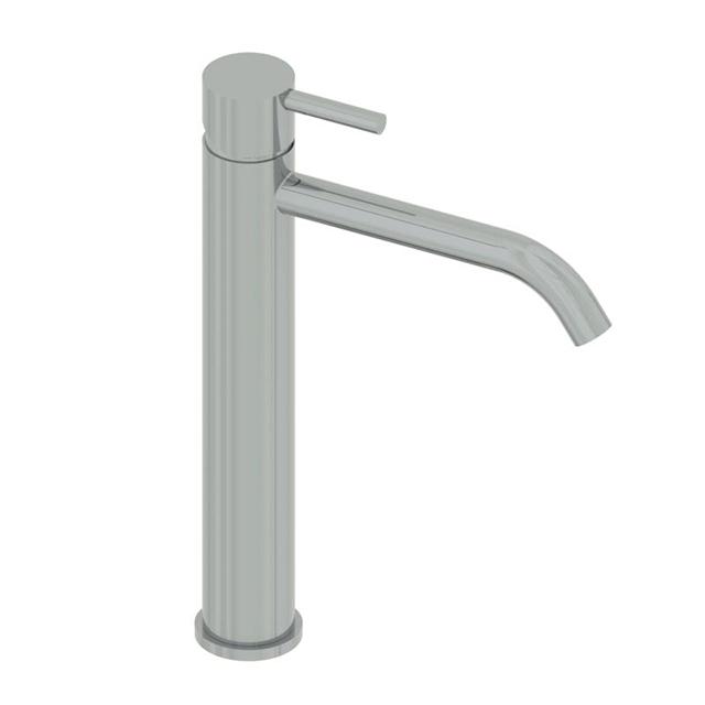 Miscelatore lavabo alto inox minimal - Miscelatore lavabo bagno ...